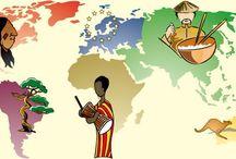 pays du monde école