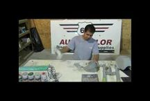 How to Paint Motorcycles with Aerosols