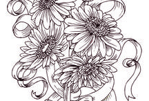 Coloring - Flowers