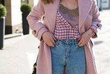 a lace top plus a checkered flanel shirt - a 1000 times yes!