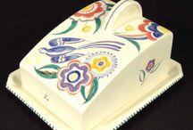 Butter/cheese dishes / by Margery Staley