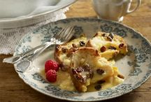SOUTH AFRICAN CLASSIC DESSERT - BREAD AND BUTTER PUDDING