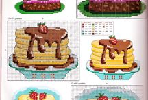 cup cake cross stitch