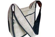 Handmade Hemp Bags / Handmade Bags