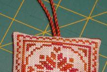 Cross stitch finishing