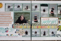 Double Page Scrapbook Love