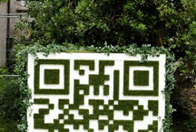 QR codes [ examples | ideas ] / I am collecting examples of QR codes: good and exciting ones as well as examples I come across, especially from Germany to showcase distribution and how they become ubiquitous. / by Nicole Simon