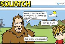 Assquatch Comics   Uber Apparatus / Assquatch Comics ain't bad!
