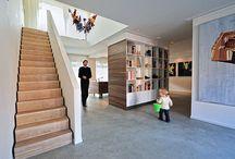 Trappen / Verschillende trappen ontworpen door BNLA architecten