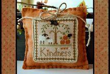 Cross stitch Little sheep virtues LHN