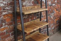 loft furniture and shelves