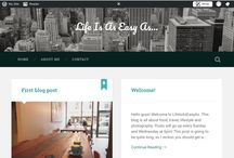 Blogging / All about blogging and my blog, tips and tricks etc...