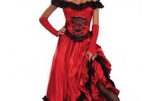 Country saloon dress