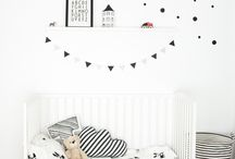 Modern Kids Interiors / Bedroom ideas, toys, decor, monochrome