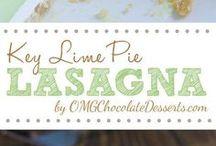 Key Lime Pie  Lasagne
