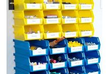 LocBin is the ideal stacking and hanging bin storage solution