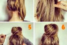 Hair style / Many ways to do hair style