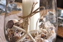 dekorace s mušlí