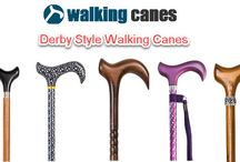 Derby Style Walking Canes