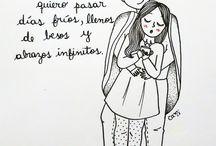 enamorados dibujos