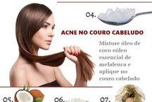 Para cabelos hidratação/umectação/crescimento