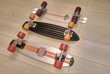 skateboard vintage Rollet