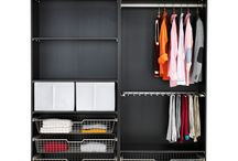 Cloakroom, wardrobe storage