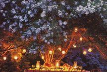 Jardins - Decoração Noturna