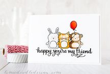 Craft ~ Friends / Friends ~ cards, packaging, tags, wrapping and gifts