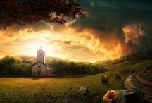 CHURCH!!! / by Kimberly Morgan