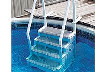 Úszás lépcsö
