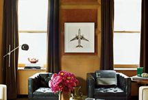 Inspiration Gentleman's Quarters / by FieldstoneHill Design, Darlene Weir