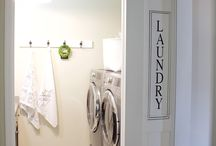 laundry room & barn door