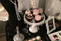 Chanel Dessert Table