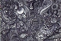 Doodles/Zentangles/Patterns/Mandalas / I draw intricate doodles and patterns. / by Shannon