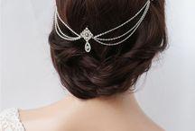 Wedding hairstyle & accessories
