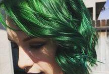 Green Hair Inspiration / 0