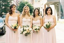 "BRIDESMAIDS / Make sure your bridesmaids look ""almost"" as good as you."