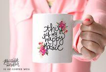 Mugs / by Jill