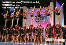 Cheerleading :) / IM A CHEERLEADER FROM BOW TO TOE  / by Shelby Smith