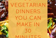 Vegetarian Meals / by Andrea Stobbe
