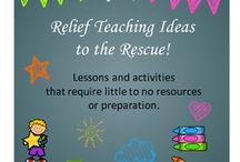 school: relief teaching