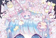 bright // cute