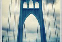 Portland Bridges / The bridges around Portland, Oregon are majestic, historical, and lovely.