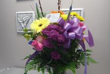 Floral Gifts / Flower arrangements suitable for birthday gifts, new babies or sympathy arrangements.