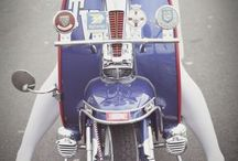 Mods And Rockers / Stylish photography of Mods and Rockers