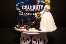 Funny Ideas, Unforgettable Wedding Cake Toppers