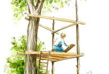 cabanes arbres
