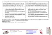 Schede Prodotti WineCosmetics / schede prodotti cosmetici naturali winecosmetics