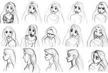 model sheets disney and stuff